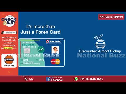 HDFC BANK launches ISIC card
