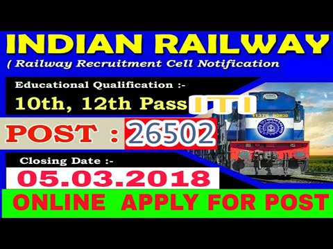 HOW  to apply railway new vacency loco pilot and technichan vacency....post 26502