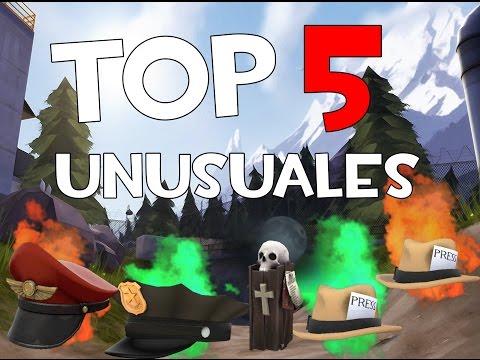 TOP 5 / MOST EXPENSIVE UNUSUALS ($, R, K)