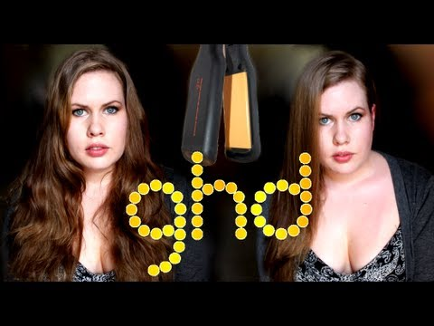 GHD Flat Iron Straightener Review! (wide plate)
