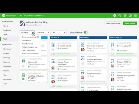 QuickBooks Online Accountant Workflow & Client Collaboration