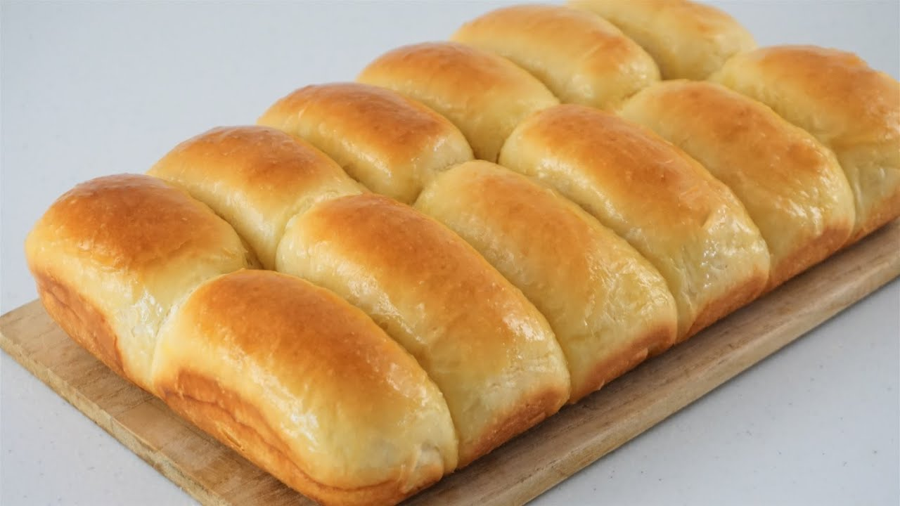 No Knead MILK BREAD❗Prepare At Night Bake In The Morning❗Warm And Buttery
