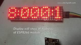 MAX7219 RTC DS1307 dht11 led matrix clock Arduino - PakVim