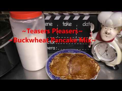 ~Bulk Buckwheat Pancake Mix~ Urban Homesteading - Stocking The Pantry