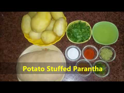 आलू पराठा की आसान रेसिपी   Potato Paratha Recipe In Hindi   Punjabi Aloo Paratha