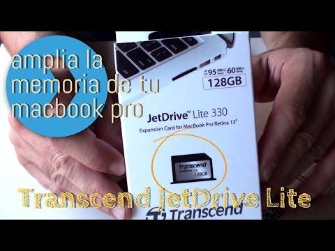 Ampliar memoria de la MacBook Pro retina / Air Upgrade Mac