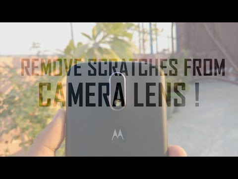 How To Remove Scratches From Camera Lens ! (100% Working)