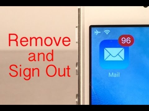 How to Remove/Sign Out of a Mail Account on iPhone, iPad, iPod touch