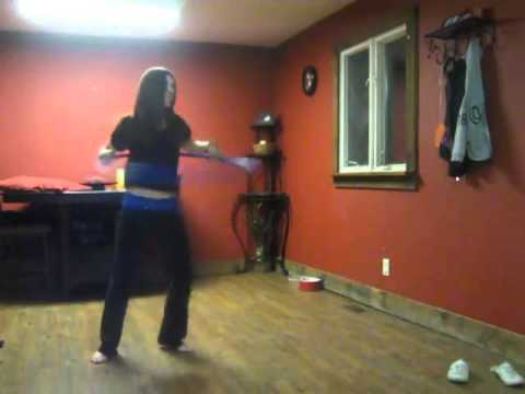 Crazy Good: This Girl Did A Hula Hoop Dance To