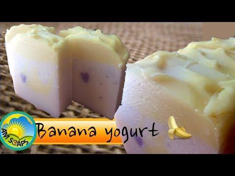 Yogurt in cold process soap