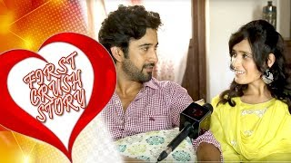 """""""First Crush Story"""" #3 with Pankhuri Awasthy & Rajveer Singh   Telly Reporter Exclusive"""