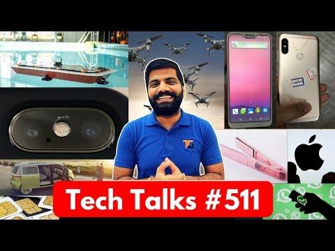 Tech Talks #511 - Self Driving Boat, Redmi 6, Snapdragon 710, Mi Credit, Google Lens
