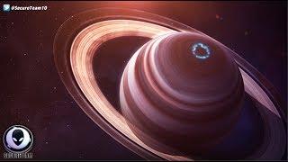"""""""GIANT"""" Alien Ships Around Saturn Admits Scientist! 7/15/17"""