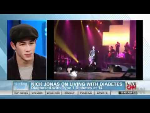 Nick Jonas on living with diabetes