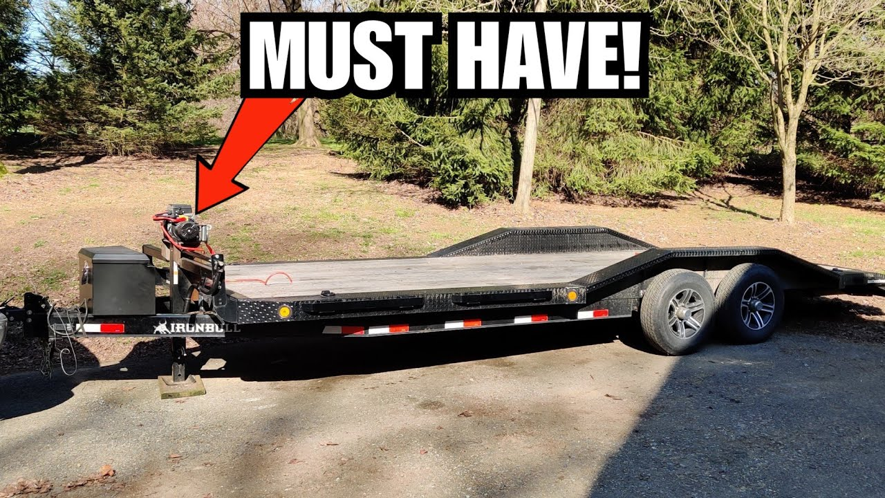 EVERY Car Hauler Trailer Needs THESE!!