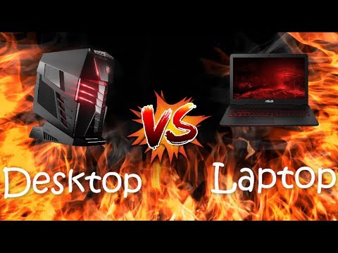 Desktop VS Laptop Gamers