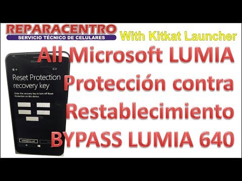 Microsoft Reset Protection Bypass Lumia 640 1000% SOLUTION
