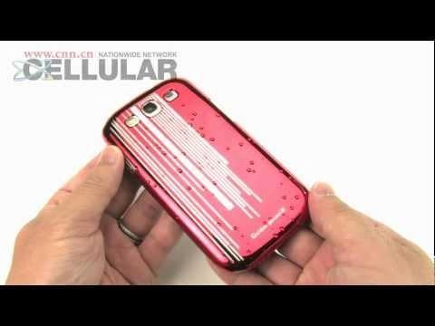 Samsung Galaxy S3 GOLDEN PHOENIX raindrop look hardcover cases demo