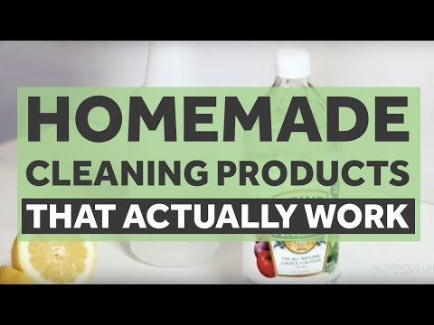Homemade Cleaning Products That Actually Work