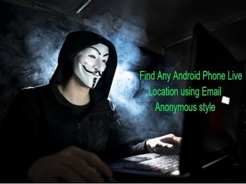 Find Any Android Phone Live Location using Email