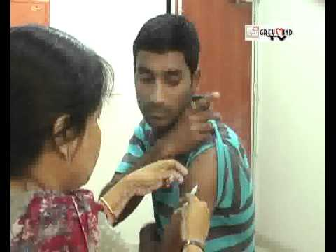 East Bengal receive vaccination for yellow fever.28.03.2012