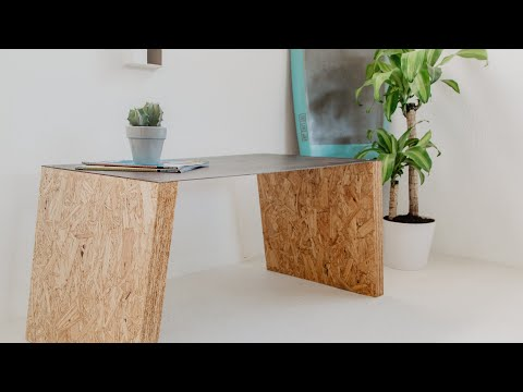 Metal and OSB Coffee Table   How To