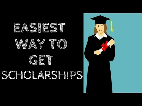The Easiest Way to Get Scholarships