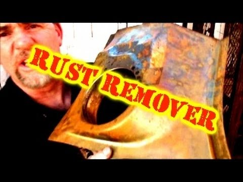 1968 Mustang GT-Remove RUST With Vinegar