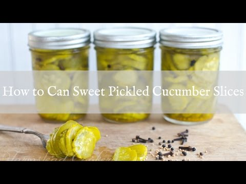 How to Make Pickle Slices