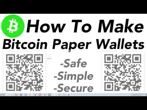 How To Make A Secure BIP 38 Encrypted Bitcoin Paper Wallet - TUTORIAL