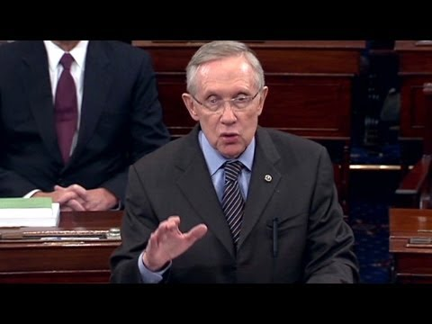 Filibuster Reform Clearly Explained by Senate Leader Harry Reid