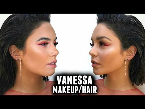 QUEEN VANESSA HUDGENS - VMA's Makeup & Hair Tutorial