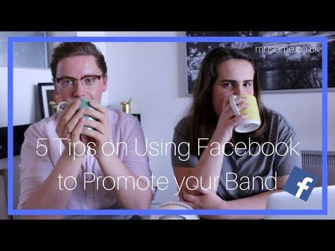 5 Tips on Using Facebook to Promote your Band | Coffee Talk with MusoMe