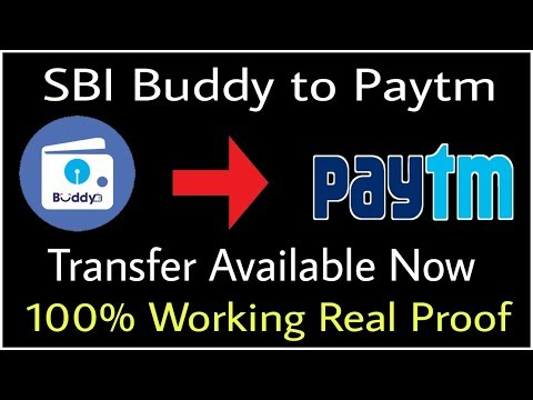 SBI Buddy to Paytm Transfer Available ( 100% working ) New App Update