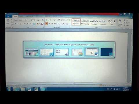 Windows 7   Using flip 3D