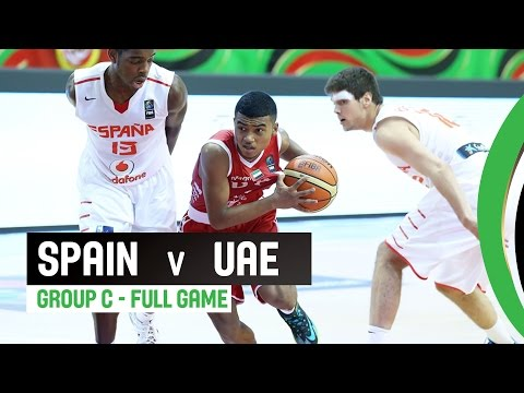 Spain v UAE - Group C Full Game - 2014 FIBA U17 World Championship