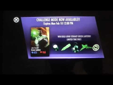 Injustice iOS John Stewart Green Lantern Challenge