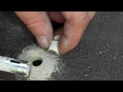 HOW TO DRILL A CONCRETE ROOF TILE