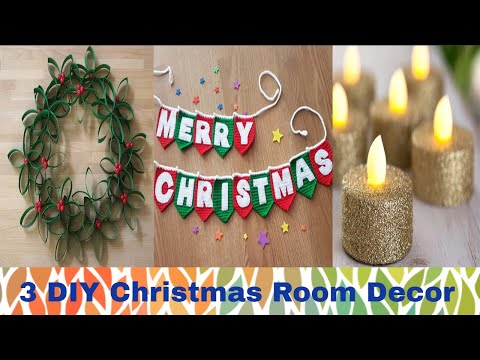 DIY Christmas Decor! Easy Fast DIY Christmas Ideas -Recycle Empty Toilet Paper Roll | CHRISTMAS 2018