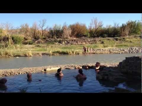 Hot Springs, Big Bend National Park