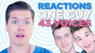 this pisses me off reacting to one guy 43 voices reactions