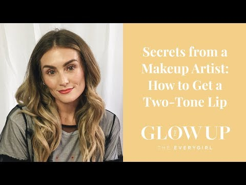 How to Get a Two-Tone Lip for Spring  •  The Glow Up