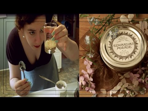 Amazing Vintage Hair Pomade Recipe (only 3 ingredients!)