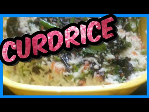 Mixed Vegetables CurdRice | How to make Vegetable curdrice | Best summer food Curdrice.