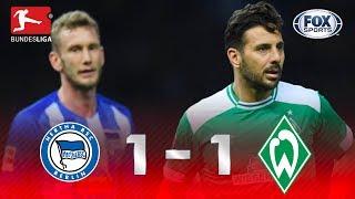 Hertha Berlin - Werder Bremen [1-1] | GOLES | Jornada 22 | Bundesliga