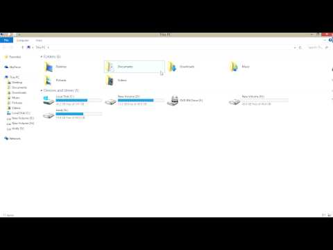how to hide a drive in windows8 or 8.1