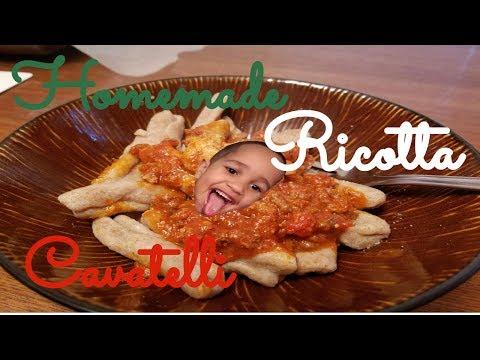 TIA LISA'S: Homemade Ricotta Cavatelli! (Recipe in description)