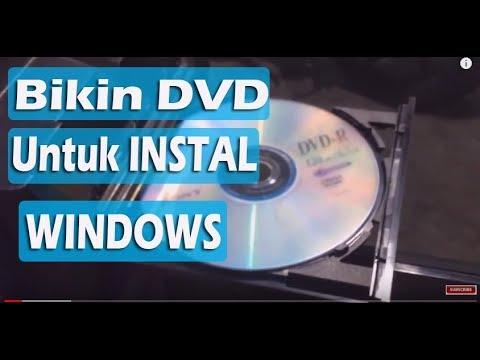 Cara Burning dan Membuat DVD Windows 10 Bootable dari File ISO
