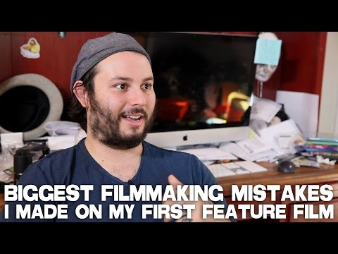 Biggest Filmmaking Mistakes I Made On My First Feature Film by James Cullen Bressack