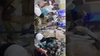 Darbaare haaji shahji mohammad sher miyan masjid me quraaan shareef mukammal hua hain